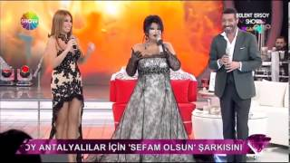 Bülent Ersoy Show   Linet & Hakan Altun & Laura Grig   27 Ekim 2013