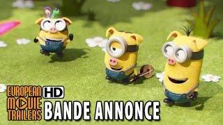 Les Minions Bande Annonce Officielle 2 VF (2015) HD