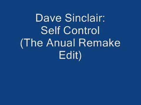 dave sinclair  self control
