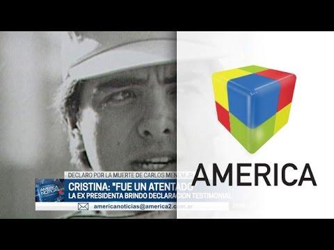 Cristina Kirchner declaró por la muerte de Menem Jr y dijo que fue un atentado