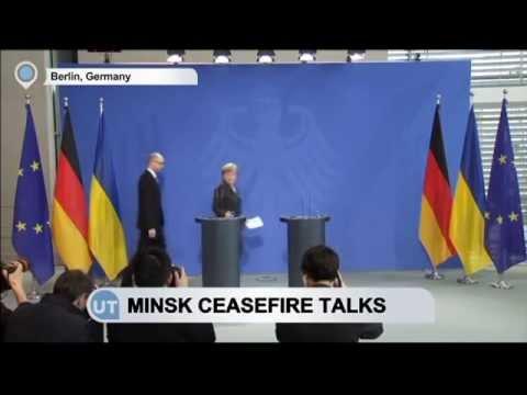 Merkel-Yatsenyuk Minsk Ceasefire Talks: Germany stays firm in commitment to east Ukraine peace plan