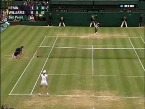 Justine Henin vs Serena Williams QF '07 6/10