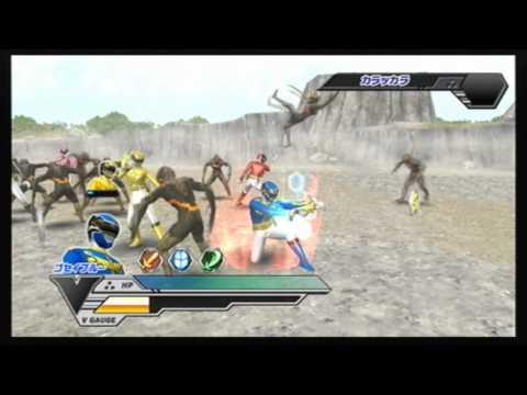 super sentai battle RANGER CROSS (Wii)- chapter 9