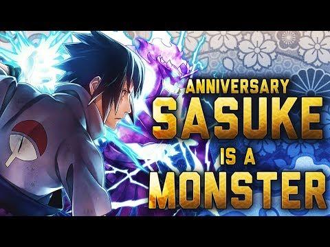 ** ANNIVERSARY SASUKE MAX DUPED NUKE (BUSTED) * | ** Naruto Ultimate Ninja Blazing *