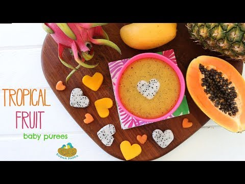Can I give exotic tropical fruit to my baby?