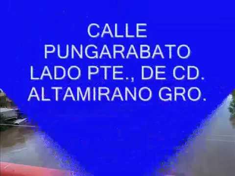 INUNDACIONES EN CD  ALTAMIRANO, GRO. Y ALREDEDORES
