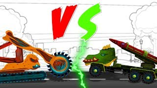Scary VS Scary | Bucket Wheel Excavator | Army Missile Truck