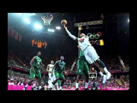 USA VS Nigeria Basketball Highlights 156:73 London Olympics 2012