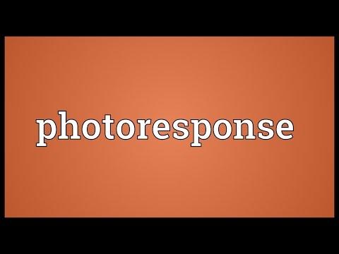 Header of Photoresponse