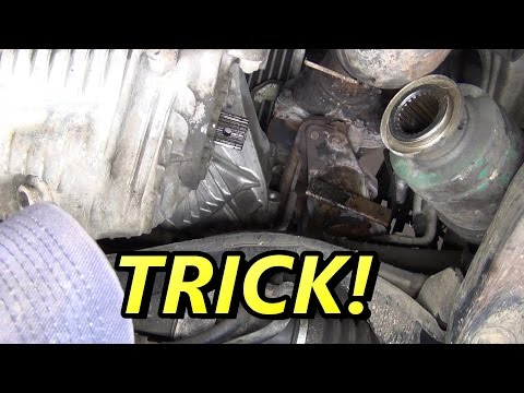 Subaru CV Half Shaft Axle Replacement How To