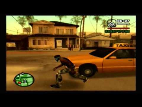 Grand Theft Auto San Andreas PS2 vs XBOX (Read Description!!!)