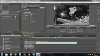 How to Make a Video Black & White in Adobe Premiere Pro