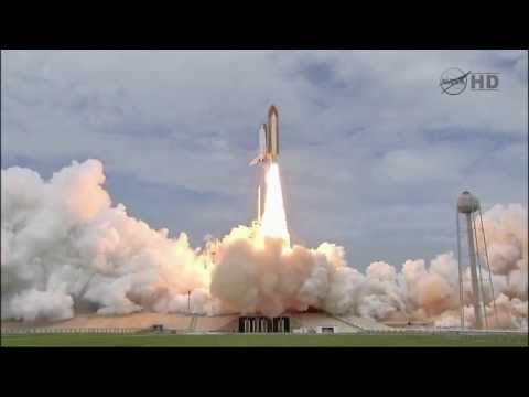 Exiting Countdown (+Hold) - Launch last Space Shuttle + com - STS-135