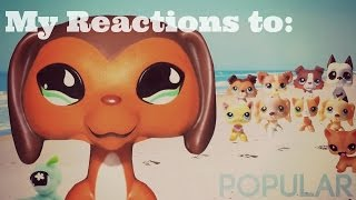 My Reactions to LPS: Popular (New Trailer 2016)