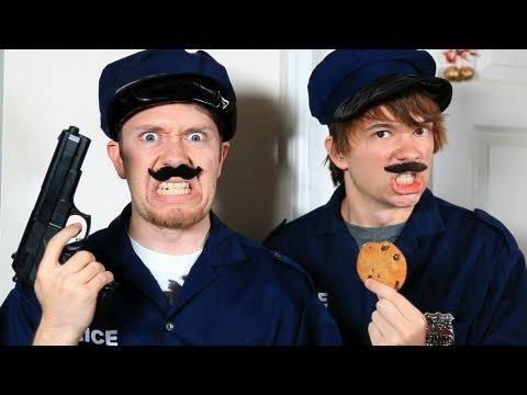 Kyle and I playing Left 4 Dead! http://www.youtube.com/watch?v=wMDwztBR4kM When there is a bad guy around, the cookie cops will be there to bust him. In this...