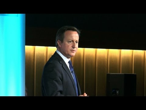 David Cameron at the Girl Summit 2014