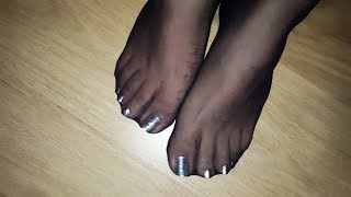 stockings sexy feet