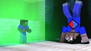Minecraft Animated Short #9 - DUELING MINI VIKKSTAR (How To Minecraft Animation)