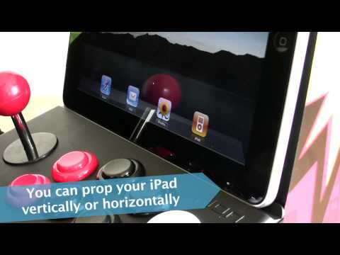 iCADE: The iPad arcade cabinet stress tested