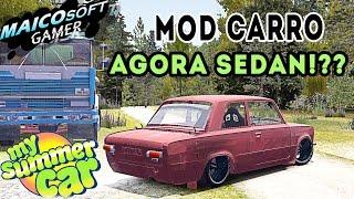 NOVO MOD CARRO - MY SUMMER CAR  - PRIMEIRO SEDAN VAZ 2101