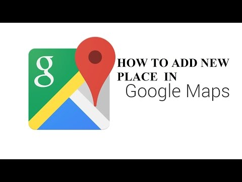 How to add new place in Google Map