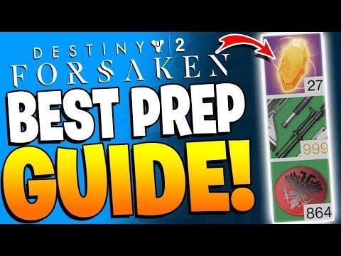 Destiny 2 - The BEST Way To Prepare For The FORSAKEN DLC EXPANSION !! thumbnail