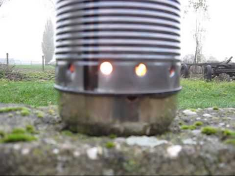 Small oil heater Part 2 ( Sunflower oil burning test)