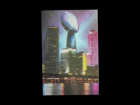 Super Bowl Miami Card