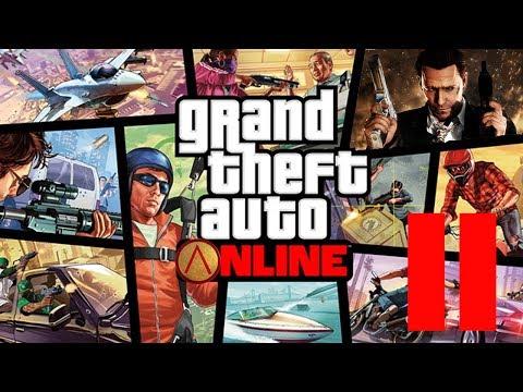 GTA V Online - 2 - Первая перестрелка