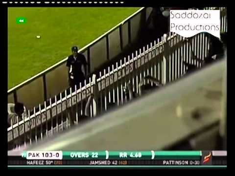 Muhammad Hafeez's Sixes of Pattinson