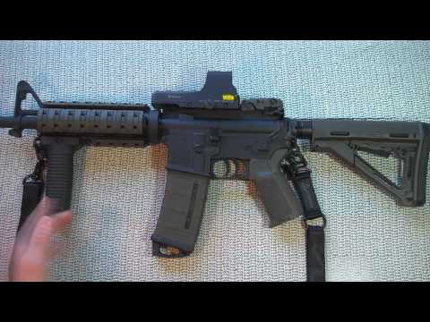 Bushmaster M4A3 Patrolman OD Green Review