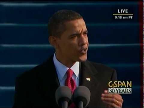 C-SPAN: President Barack Obama 2009 Inauguration and Address