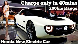 Honda New Electric Car || Full Charge only in 40 mins || Sports EV || Resab Creations