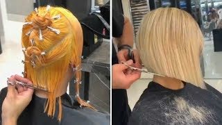 Amazing Short Haircut And Color Transformations | 11 Beautiful Hairstyles Ideas 2019