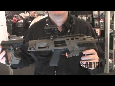 Command Arms Accessories (CAA) - SHOT Show 2011 - AR15.Com