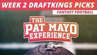 2017 Fantasy Football: Week 2 DraftKings Picks, Sleepers & Preview