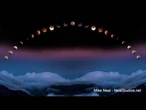 Lunar Eclipse 041414 - Haleakala Maui