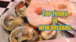 Top Places To Eat In New Orleans [4K] - Vacation Travel Guide - New Orleans Louisiana