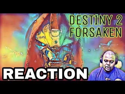 DESTINY 2 FORSAKEN DLC REACTION! E3 PLAYSTATION 2018 thumbnail