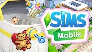 HAVING A BABY!👶🍼 // THE SIMS MOBILE #6
