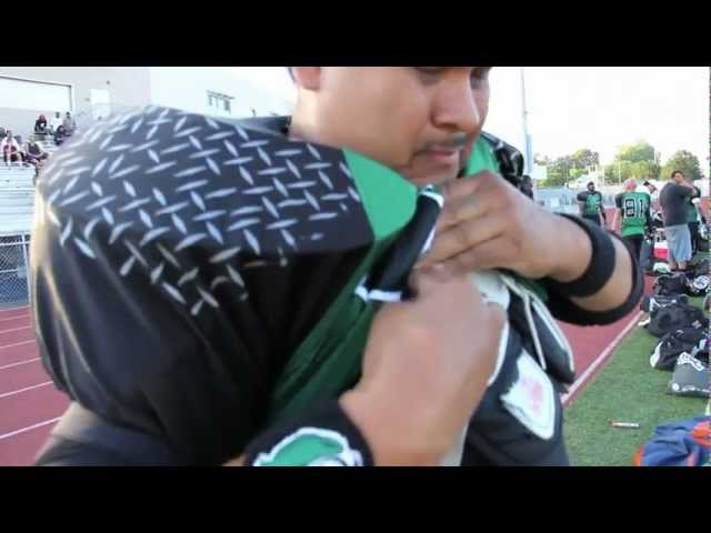Inglewood Blackhawks Football Highlights 2012 - Week 4