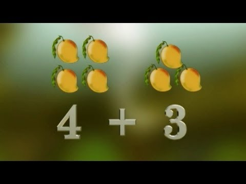 Telugu Rhymes | Easy Maths Counting For Childrens | Full Hd video