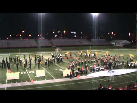 Morton High School Marching Band  Illinois State Finals 2011