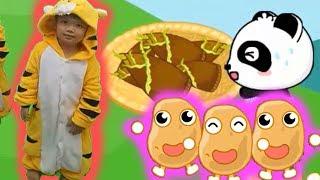 Kỹ năng cho bé tập 15 Món ăn tốt cho sức khỏe p3 hoạt hình vui nhộn Kênh trẻ em - video cho bé yêu