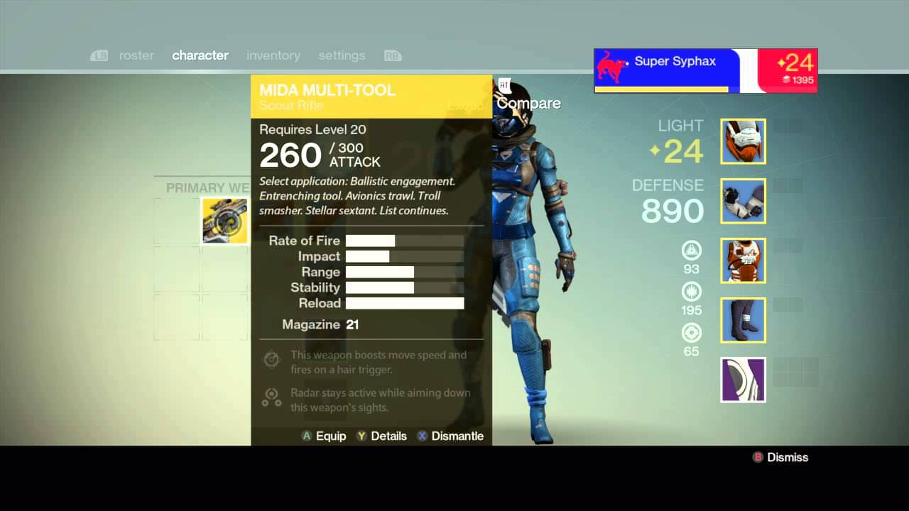 Exotic armor and weapons mask of the third man lucky rasberry mida
