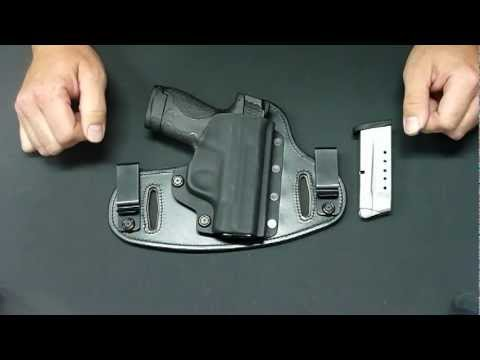 Smith & Wesson M&P Shield with Hidden Hybrid Holsters