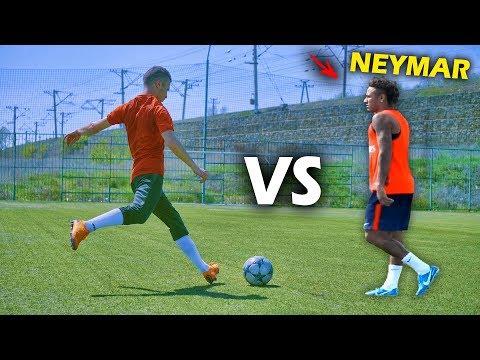 ОНЛАЙН ФУТБОЛ ПРОТИВ НЕЙМАРА !!!   CHALLENGE VS NEYMAR