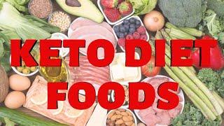 Keto diet foods   Keto die