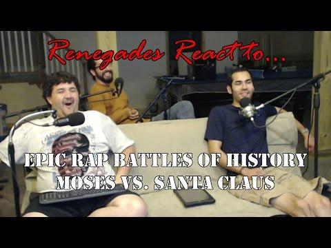 Renegades React to... Epic Rap Battles of History Moses vs. Santa Claus