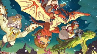 Monster Hunter Stories High Rank E17 - Tower Of Illusion Floors 20-30! High Rank Rajang